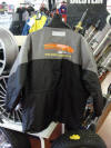 TCT179/25A/L: 'Motoscope' Forest Rally Jacket, Size L, Black Charcoal with 2 Logos